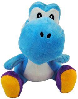 Blue Yoshi plush