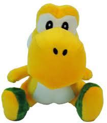 Yellow Yoshi Plush