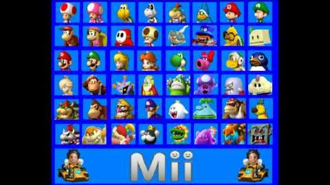 Mario Kart 8 Custom Character Roster (New and Improved Version)