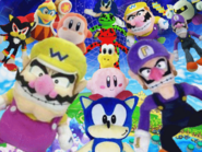 Wario y waluigi Super Adventures background