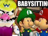Wario's Babysitting Job