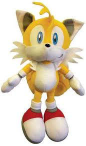 Tails in sonic x plush