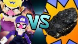 Wario & Waluigi VS The Rock