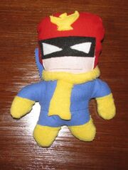 Captain Falcon Plushie by Bleu Ninja