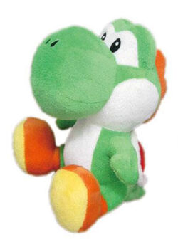 Yoshi plush toy
