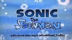 Sonic the Snowman