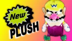 New Plush Wario