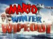 Mario winter wipeout logo