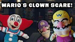 Wario's Clown scare