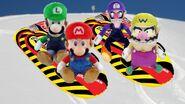 Mario's Sleigh Ride
