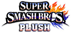Super Smash bros Plush Logo