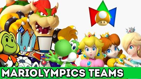 National Teams for the 2015 Mariolympics!
