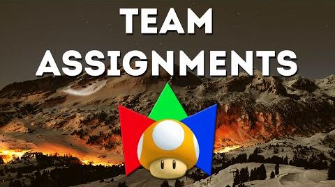 Team Assignments for the 2015 Winter Mariolympics