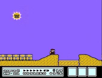Angry Sun Mario Maker Wiki Fandom