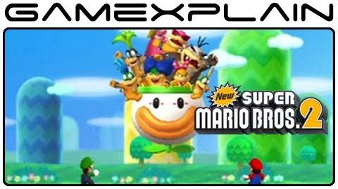 New Super Mario Bros. 2 - Full Intro & Opening Movie (Nintendo 3DS)
