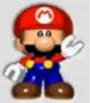Mini-Mario toy