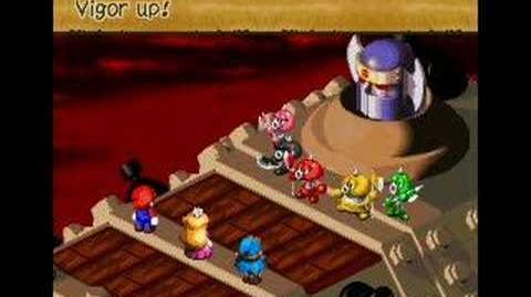 Super Mario RPG - Axem Ranger Battle