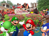 Mario, Sonic, the Eds, and Friends Go to Dollywood