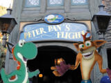 Mario, Sonic, the Eds, and Friends Ride Disneyland's Peter Pan's Flight