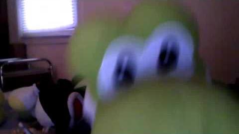 Minecraft Creeper Explodes On Yoshi