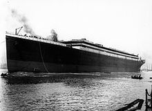 232px-Titanic launched at Belfast