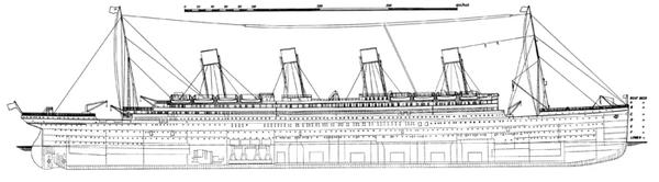 700px-Titanic side plan 1911