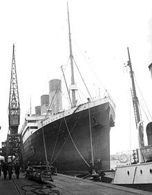 220px-Olympic, Southampton, 1929