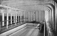 Swimming pool of the Titanic