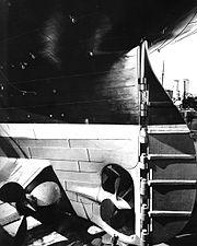 180px-Titanic stern and rudder