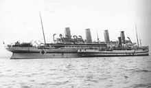 220px-HMHS Galeka and the HMHS Britannic