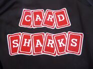 Card Sharks 80s Crew Member Jacket Logo