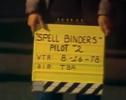 Spell Binders Production Slate