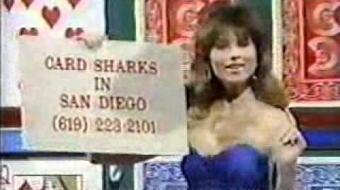 Card Sharks Worthless Contestant Plug - March 1989