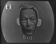 Fred Allen Head on Face
