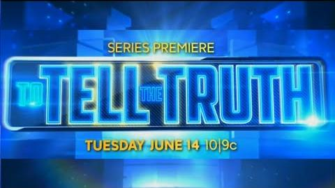 ABC To Tell The Truth Promo - Premieres June 14th