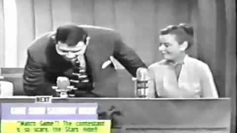 Monkey on Make the Connection 1950s