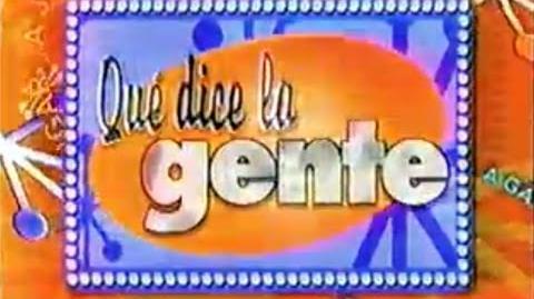 Promo ¿Qué Dice La Gente? - Venevisión (2002)