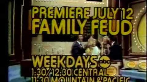 ABC promo Family Feud 1976