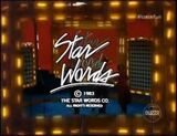 Star Words Sketch Logo