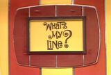 What's My Line? 70's logo