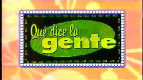 PROGRAMA ¿QUE DICE LA GENTE? MAITE DELGADO VENEVISION 2002