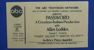 Password (October 31, 1971)