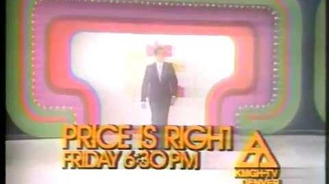 The Price Is Right 1977 KMGH Nighttime Promo