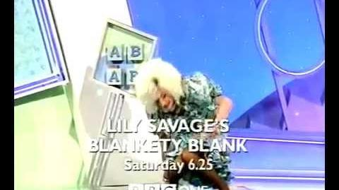 UK TV AD Lily Savage's Blankety Blank (1999)