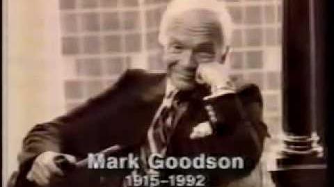 Bob Barker Announces the Death Of Mark Goodson