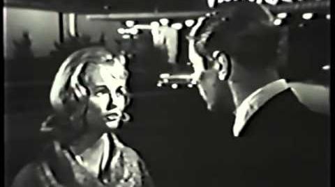 LAS VEGAS BEAT 1961 Peter Graves rare TV pilot