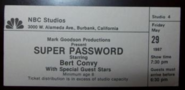 Super Password (May 29, 1987)