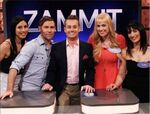 Zammit with Grant Denyer