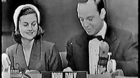 IT'S NEWS TO ME with John Charles Daly - DEBUT (May 11, 1951)