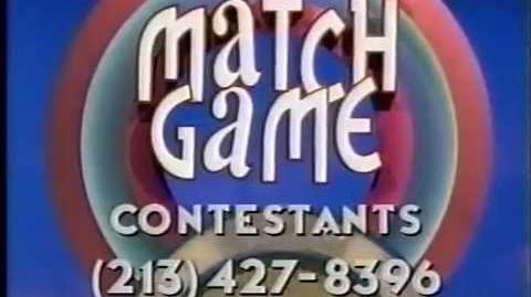 Match Game ticket plug, 1998